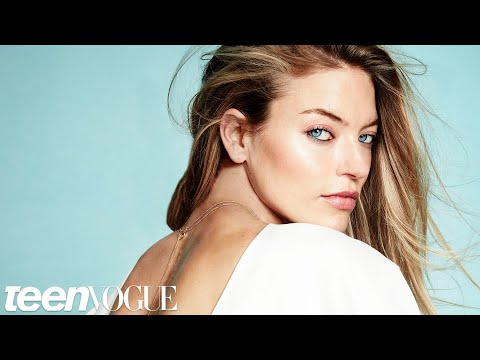 Victoria's Secret Model Martha Hunt Takes On Scoliosis | Teen Vogue