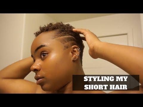 HOW I STYLE MY SHORT HAIR!