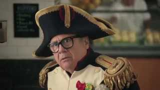 Frank In The Latest Nespresso Commercial Danny Devito And George Cloo