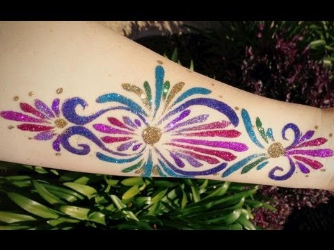 Glitter Tattoo - Freehand!