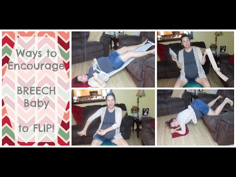 Ways to Encourage a Breech Baby to FLIP!
