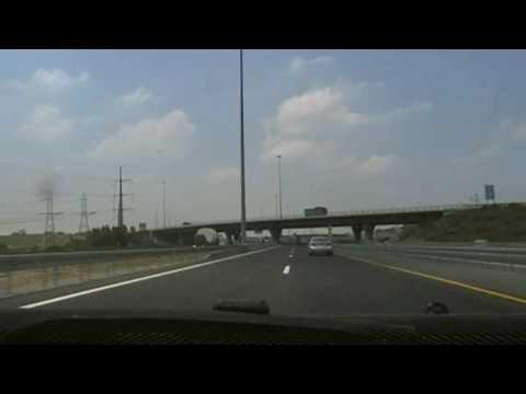Driving in Israel 2009: Nazareth Illit to Be'er Sheva via Highway 6
