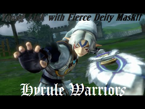 Young Link & Fierce Deity Gameplay~ Hyrule Warriors!!
