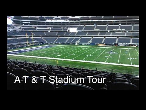 Dallas Cowboys A T & T Stadium Tour!