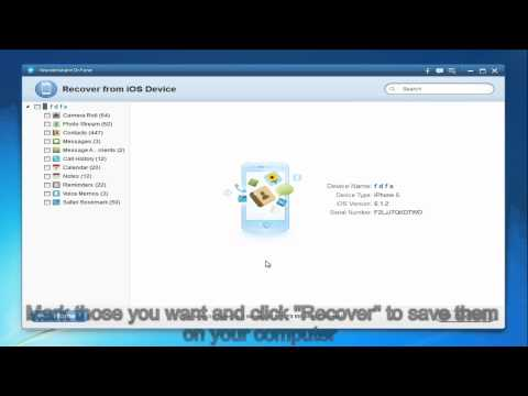 How to Recover Deleted SMS from iPhone 5 and iPhone 4S