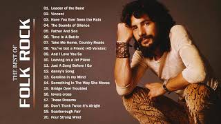 BEST OF 70s FOLK ROCK AND COUNTRY MUSIC - Don McLean, Cat Stevens, James Taylor, Jim Croce, America