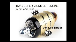 New Micro Jet Engine 30 Lb Thrust Very Affordable! 12kg Video