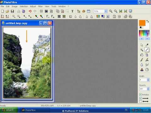 How to Insert Arrow mark into your photos