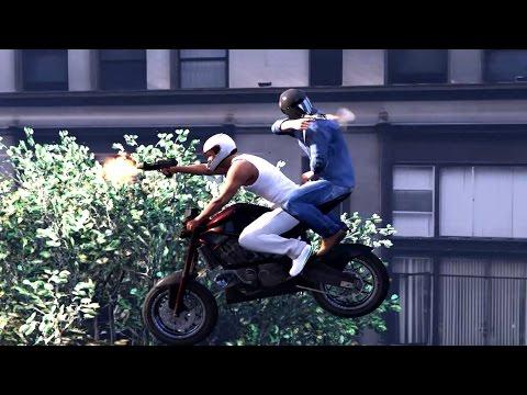 GTA V Kills,Franklin And Michael Biggest Rampage Ever(top brutal kills compilation)
