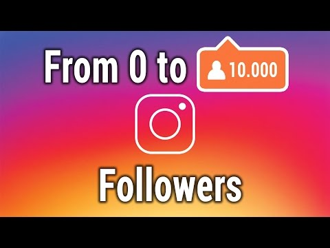 How To Get Followers On Instagram Fast | 6 Strategies To Your First 10k Followers