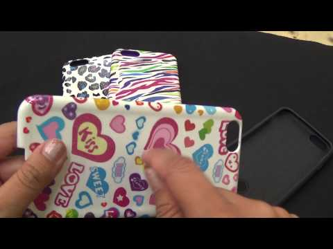 Protective Cute Cases for Apple iPhone 6 Plus Hybrid Design Cases Overview By CellCasesUSA