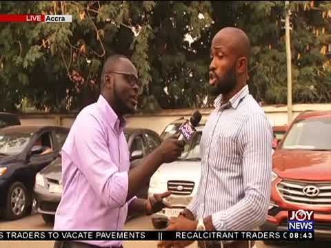 Rush For 2018 Number Plates - AM Show on JoyNews (3-1-18)