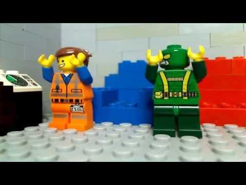 LEGO: Emmet and Bob annoy Deadpool