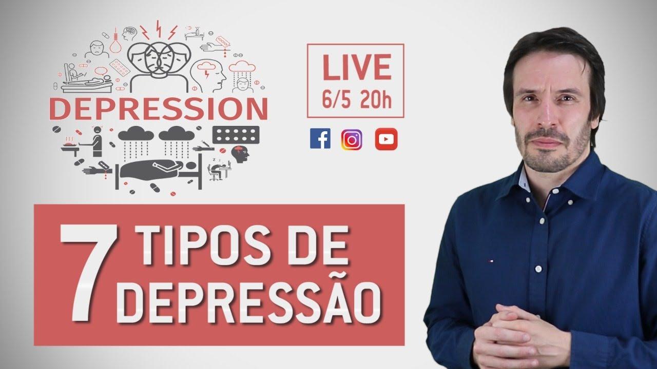 7 TIPOS DE DEPRESSÃO | Psiquiatra Fernando Fernandes