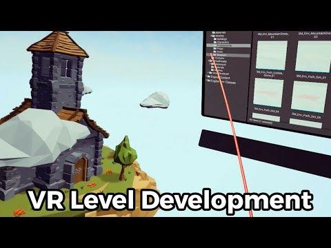 VR Level design - VR game development in Unreal Engine 4