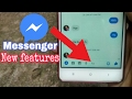 Messenger new update