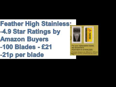 Discover The Best Razor Blades for DE Razors