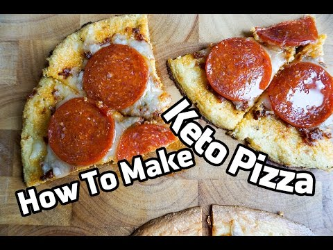 How to Make Keto Pizza - Cauliflower vs Fathead Crust-Off!!!