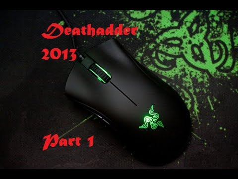 Razer Deathadder ★HD★ 2013 Unboxing and Configuring Synapse 2.0 (PART1)   ✔
