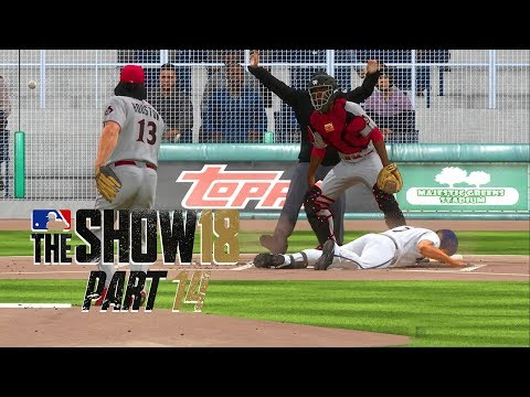MLB 18 Road to the Show - Part 14 - HIT BY PITCH!