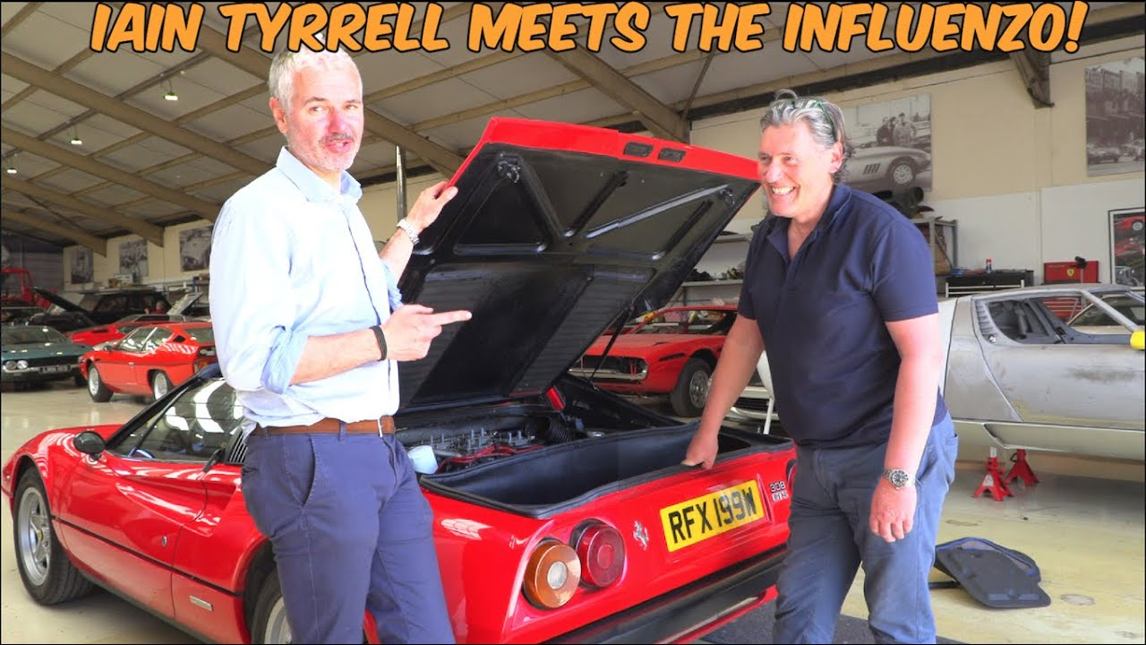 What Does UK's Top Expert Think Of My Cheap Ferrari 308 ?
