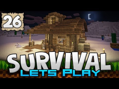 HEADING WEST, INTO THE WILD! - Survival Let's Play Ep. 26 - Minecraft 1.2 (PE W10 XB1)