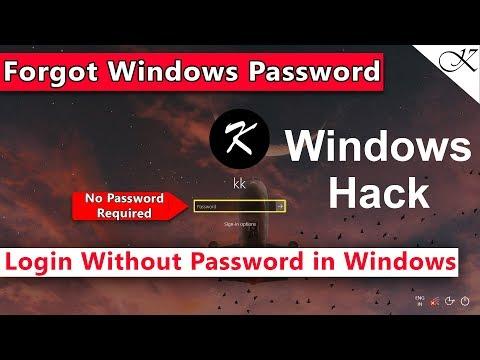 Hack windows 10 password | Login windows 10 no password | hack others computer