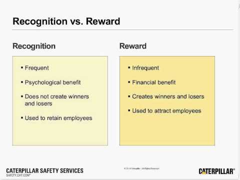 Safety Webinar | Recognition and Workplace Safety