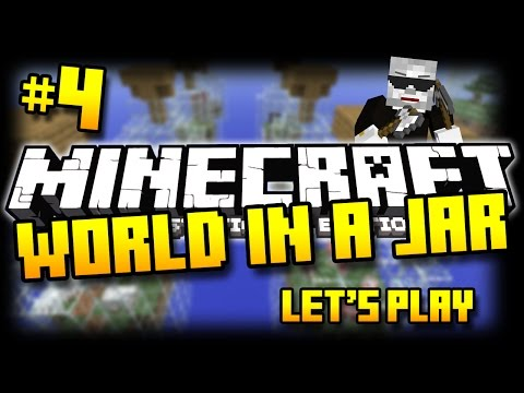 Minecraft PS3 - World In A Jar Survival - Part 4 - SILVERFISH ATTACK! ( PS3 )