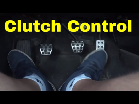 Clutch Control-Reversing In A Manual Car-Driving Lesson