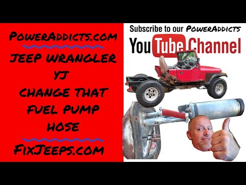 Changing the Fuel Pump? Replace that little hose!