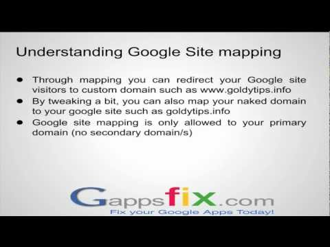 How to effortlessly map your Google site with your custom and naked domain in 4 easy steps