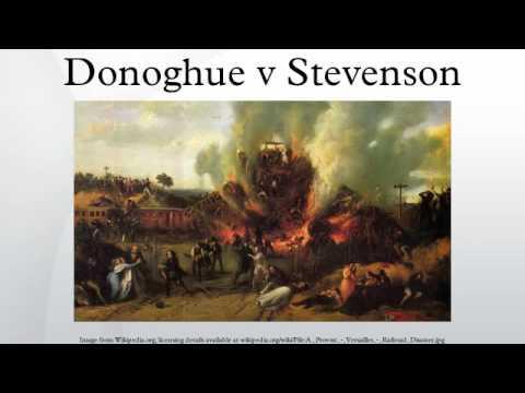 Donoghue v Stevenson
