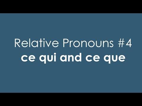 Xxx Mp4 French Relative Pronouns 4 Ce Qui And Ce Que 3gp Sex