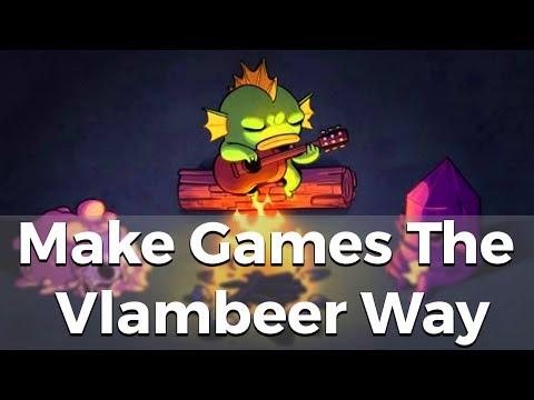 Make Games The Vlambeer Way - Resource Drop #3 [Game Design And Development]