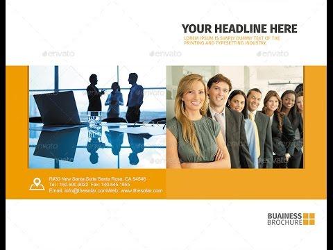Corporate Bifold Brochure Template Vol 01