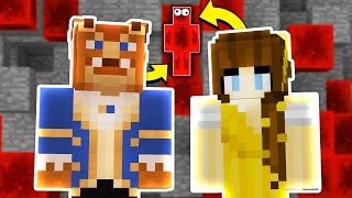 BEAUTY AND THE BEAST HIDE & SEEK! - Minecraft Mods