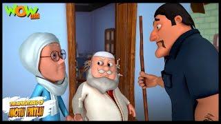 Motu Patlu Cartoons In Hindi   Animated cartoon   Makan Malik   Wow Kidz