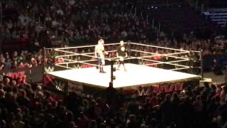 Curt Hawkins vs James Ellsworth WWE Live Bossier City 1/7/17