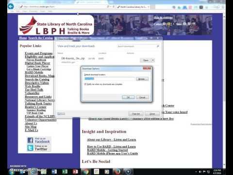 BARD Tips - Pick download folder in Internet Explorer