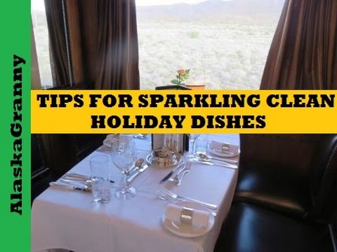 Holiday Dishes- Easy Tips to Clean Silver, Pewter, China, Stainless