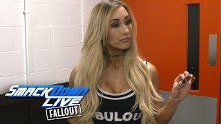 Why did Carmella attack James Ellsworth?: SmackDown LIVE Fallout, Nov. 7, 2017