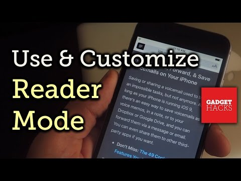 Use & Customize Reader Mode on Your iPad, iPhone, or iPod touch [How-To]