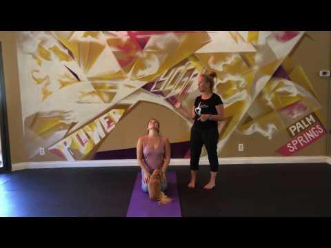 How to cure vertigo | Yoga Tip | Power Yoga Palm Springs
