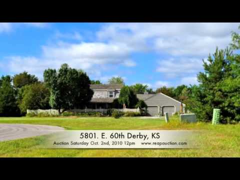 5801 E 60th S Derby KS Home for Sale at Auction Oct 2 12pm