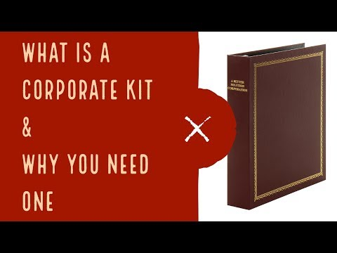 What is a corporate kit and why you need one