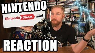 NINTENDO DIRECT MINI REACTION! - Happy Console Gamer