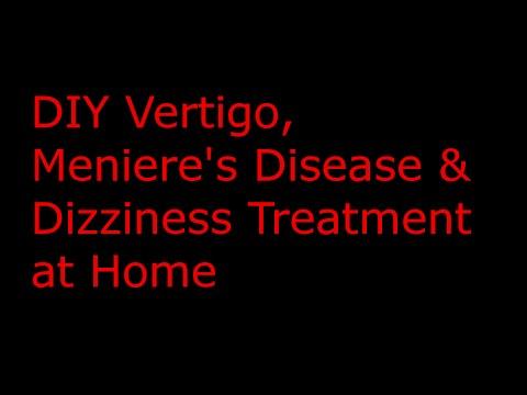 Vertigo Treatment How To Fix Vertigomeniere S Diseasedizziness With A