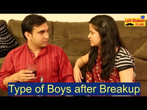 Types of Boys after Breakup - | Lalit Shokeen Comedy |