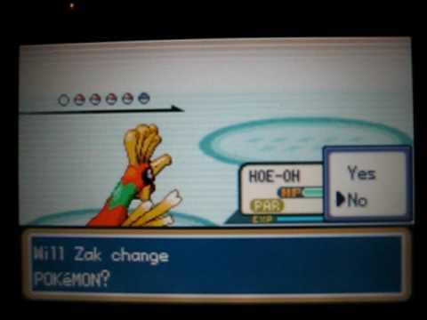 Pokemon Shiny Gold on Psp - Elite Four - Karen